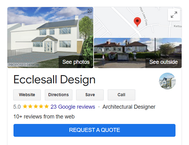 Google My Business Request A Quote